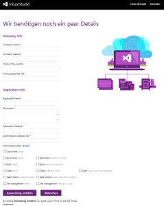 VSO_Anwendung_registrieren